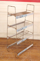Sapolin Paints Metal Wire Display Rack Double Sided Advertising Shelf