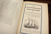 The Confederate Privateers by William Morrison Robinson, Jr., Copyright 1928
