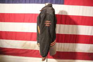 Newton, Massachusetts Corduroy Letterman Jacket, Size XS