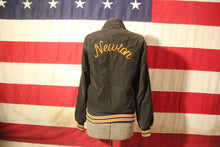 Load image into Gallery viewer, Newton, Massachusetts Corduroy Letterman Jacket, Size XS