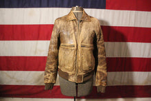 Load image into Gallery viewer, Adam Spencer Brown Leather Jacket, Size 38