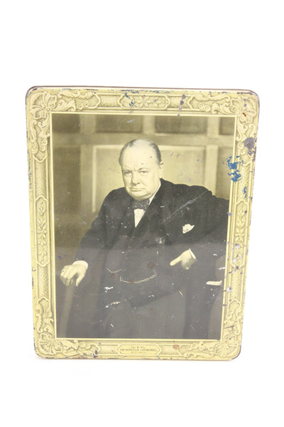 Sir Winston Churchill Huntley & Palmers Biscuits Tin, England