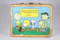 Peanuts by Schulz Thermos Brand Metal Lunchbox, 1959