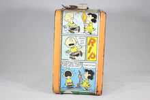 Load image into Gallery viewer, Peanuts by Schulz Thermos Brand Metal Lunchbox, 1959