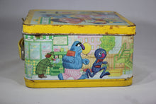 Load image into Gallery viewer, Sesame Street Muppets Inc. Aladdin Brand Metal Lunchbox, 1979