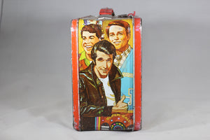 Happy Days Thermos Brand Metal Lunchbox, 1976
