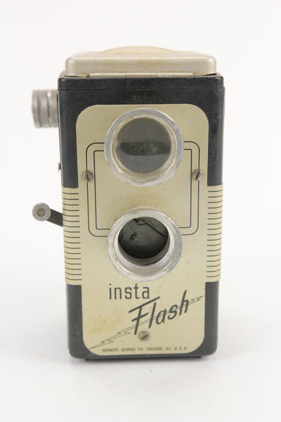 Herbert George Co. Insta Flash TLR Camera