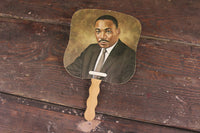 Mammoth Life and Accident Insurance Company Martin Luther King, Jr. Advertising Church Fan