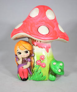 Mushroom Plaster Coin Bank by Holiday Fair, Japan, 1960s