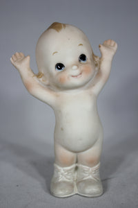 Bisque Kewpie Doll, 4""