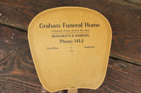 Graham Funeral Home, Carrollton, Kentucky Advertising Church Fan