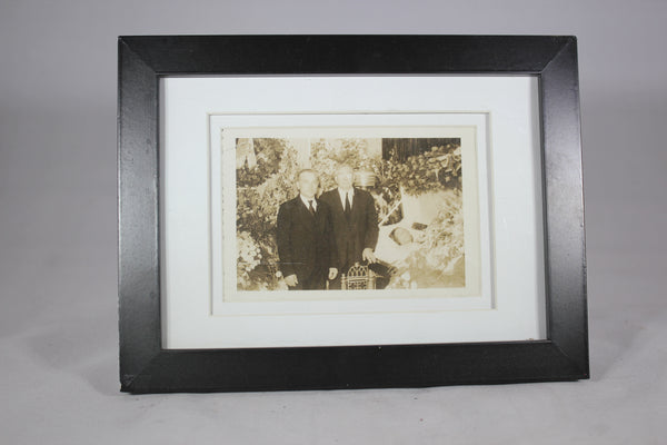 Framed Post-Mortem Funeral Photograph, 4.5x3""