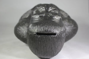 King Kong Gorilla Blow Mold Coin Bank, Reproduction of A.J. Renzi Original, 16""