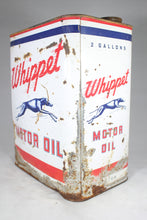 Load image into Gallery viewer, Whippet 2-Gallon Motor Oil Antique Can