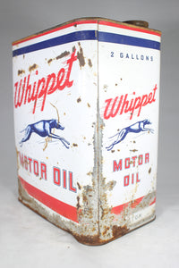 Whippet 2-Gallon Motor Oil Antique Can