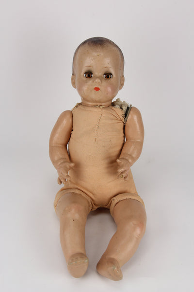 Arranbee R&B Composition Baby Doll with Creepy Eyes and Cloth Body, 20""