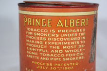 Load image into Gallery viewer, Prince Albert Crimp Cut Tobacco Round Tin Can