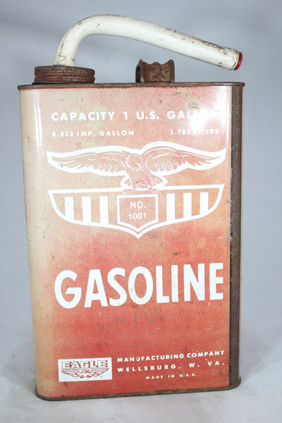 One Gallon Red Gas Can by Eagle, No. 1001