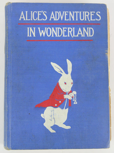 Alice's Adventures in Wonderland (Illustrated) by Lewis Carroll, Copyright 1907