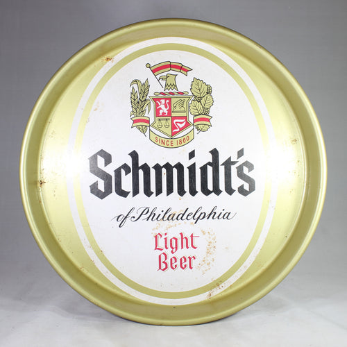 Schmidt's of Philadelphia Light Beer Metal Tray