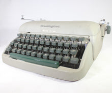 Load image into Gallery viewer, Remington Travel-Riter Manual Portable Typewriter with Case, 1950s