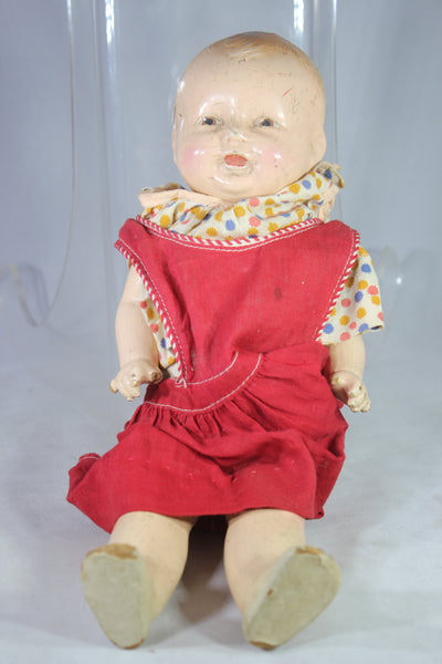 "Antique American Character Doll Co. ""Petite"" 13 Inch Composition Doll, 1920s"
