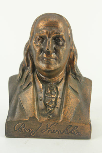 Suffolk Franklin Savings Bank, Boston, Massachusetts Benjamin Franklin Coin Bank