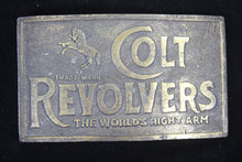Load image into Gallery viewer, Colt Revolvers Solid Brass Belt Buckle
