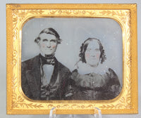 Ambrotype Photograph of a Happy Looking Couple