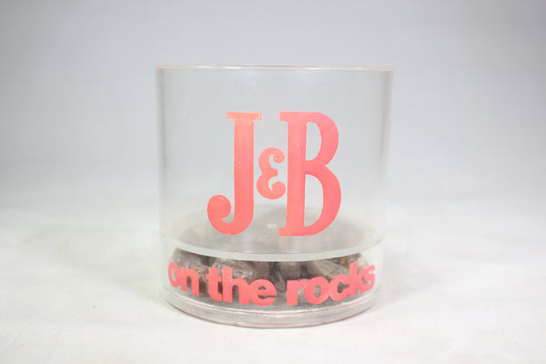 "J&B Scotch Whiskey ""On the Rocks"" Plastic Tumbler"