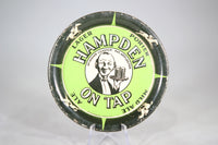 Hampden On Tap Spinning Tip Tray Beer Coaster, 4""