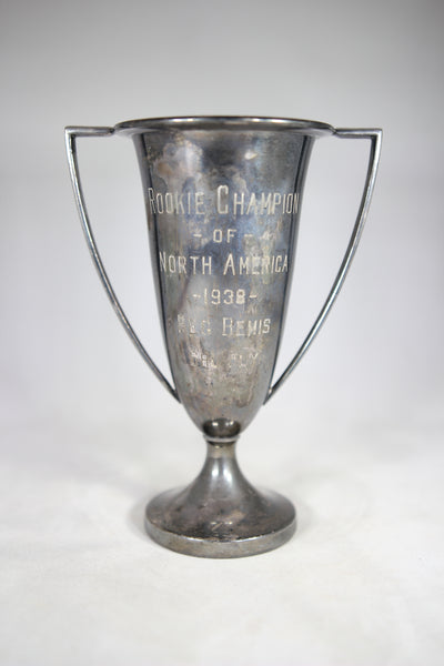 Rookie Champion of North America, 1938 Silver-Plated Trophy