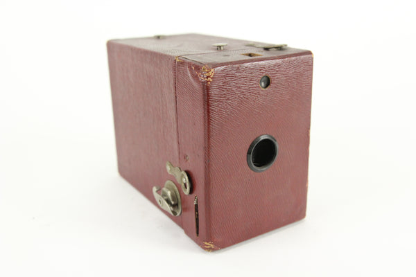 Eastman Kodak Rainbow Hawk-Eye No. 2 Box Camera (Red Color)