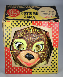 Ben Cooper Costume 'Jama Teddy Bear Costume with Mask (In Box)