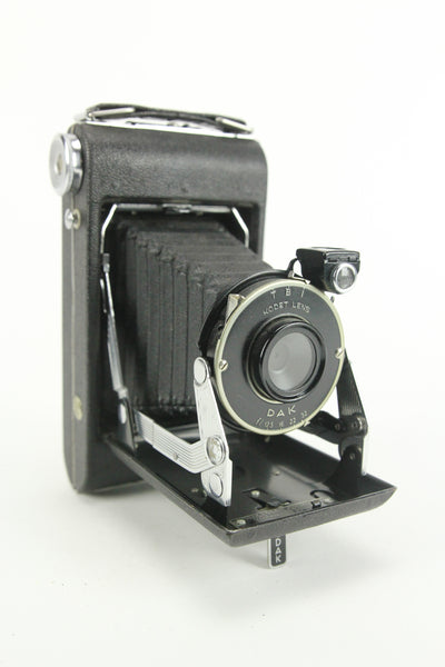 Eastman Kodak Vigilant Junior Six-20 Folding Camera with Kodet f/12.5 Lens