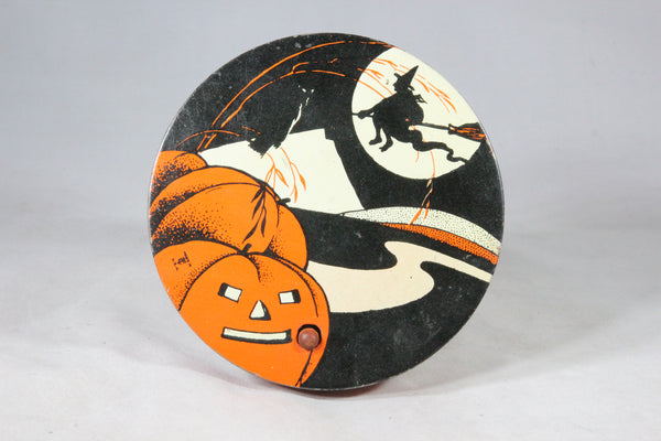 Halloween Noisemaker Tin-Lithograph Toy