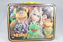 Load image into Gallery viewer, Muppets Fozzie Bear Thermos Brand Metal Lunchbox, 1979