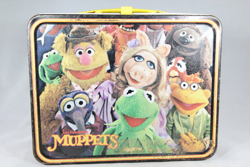 Muppets Fozzie Bear Thermos Brand Metal Lunchbox, 1979