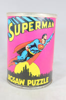 Superman 81-Piece Jigsaw Puzzle, 1973 (Missing 8 Pieces)