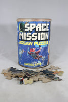 Space Mission 200-Piece Jigsaw Puzzle, 1975 (Missing 5 Pieces)