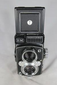 Yashica Copal-MXV Medium Format Camera with Leather Case and Light Meter