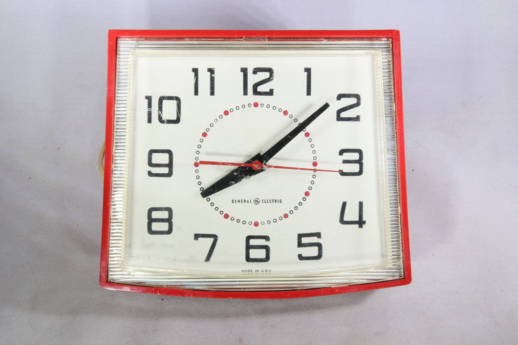General Electric Model 2H110 Electric Kitchen Wall Clock
