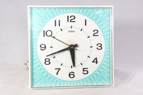 Sunbeam Electric Kitchen Wall Clock