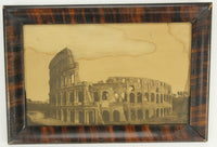 Antique Framed Photograph Print of the Colosseum Ruins, Rome, Italy - 16 x 11""