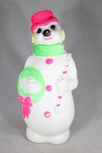 Snowman Light Up Blow Mold by Empire Plastic, 1968