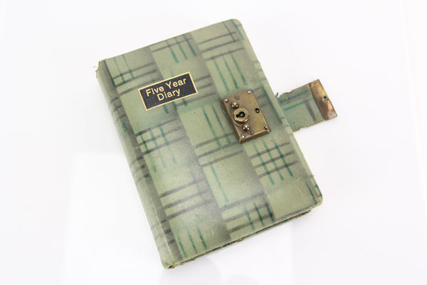 Depression Era 1931-1935 Five Year Diary Journal of Ethel G. Taylor, Keene, NH