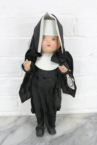 Our Little Sister Composition Nun Doll, 13""