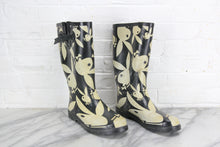 Load image into Gallery viewer, Playboy Bunny Rain Boots, Pair, Size 10