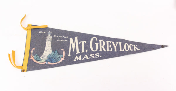 Mount Greylock War Memorial Beacon, Massachusetts Vintage Pennant - 25""