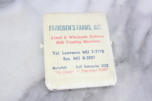 Findeisen's Farms, Inc. Enamel Advertsiing Clip